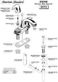 bathroom sink parts throughout american standard faucet in plumbing decor 3 plan 19