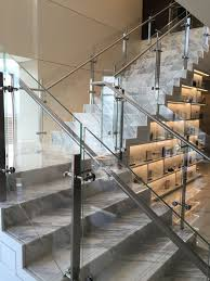 Stainless Steel Railing Designs Images Glass Railing With Stainless Steel Glass Clamps Railing
