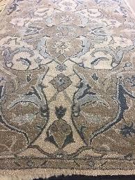 pottery barn nwt nolan persian style rug neutral blue 5