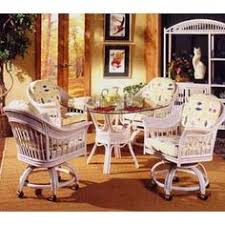 white and whitewash rattan and wicker dining room furniture sets dining tables and chairs