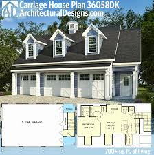 historic carriage house plans plan dk 3 car carriage house plan with 3 dormers