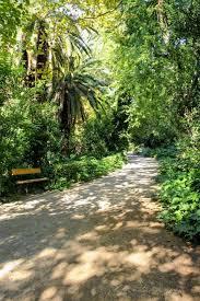 beautiful natural surroundings of the national garden