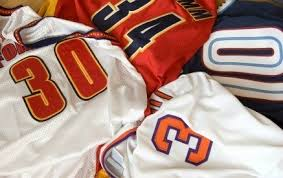 Making a Sports Jersey Quilt   ThriftyFun & A great memory quilt can be made for your sports enthusiast or athlete from  a sports jersey collection. This is a guide about making a sports jersey  quilt. Adamdwight.com