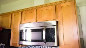 a microwave with external venting