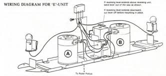 can a mechanical e unit be used a dc motor bridge i might have a hand drawn diagram too that jerry williams drew out himself and photocopied for distribution both are a lot better than my