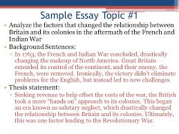 apush review how to write an introductory paragraph ppt video  sample essay topic 1