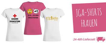 Jga T Shirts Drucken Lassen Bei Jga Shirts Druckende