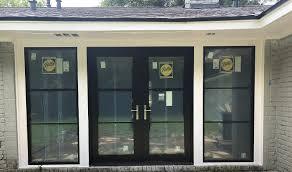 contemporary french patio door upgrade