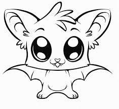 Small Picture cute coloring pages of animals Cute Kawaii Resources