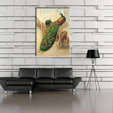 1 picture combination painted canvas oil paintings peacock painting home decor wall for room canvas painting canvas art decor on home decor wall art nz with peacock home decor canvas art nz buy new peacock home decor canvas