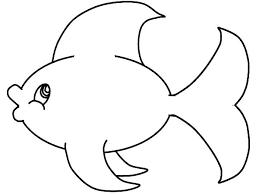 Small Fish Template Fish Outline Printable Bowl Wakacyjnie Info