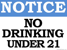 21 Allowed Not Printables Sign Under Signs Drinks Printable Drinking No Signs