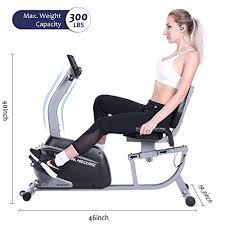 MaxKare <b>Recumbent Exercise</b> Bike <b>Indoor</b> C- Buy Online in Israel at ...