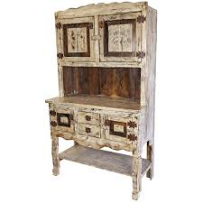 rustic dining room hutch. Plain Ideas Rustic Kitchen Hutch Mexican This White Washed Painted Wood Dining Room
