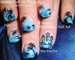 Robin Moses Nail Art: Is it getting HOT in here, or is it just ...