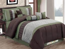 unbelievable sage green comforter sets olive set intended for king size in idea 9 beautiful brown and