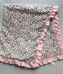 carters pink grey leopard cheetah print