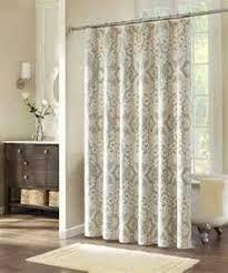 Beige shower curtains Black White Tan 80 00 New Calypso Shower Curtain 40 00 Pinterest 135 Best Shower Curtains Images Bathroom Bathroom Curtains Washroom
