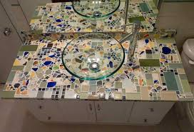 mosaic counter top by melanie berry