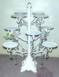 crystal chandelier cupcake stand white chandeliers holder cup cake by on chandeli