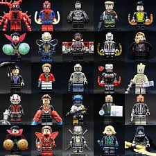 New 2019 <b>MARVEL Superheroes</b> Custom <b>Legoing</b> Minifigures ...