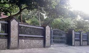 wrought iron fence brick. Cute Wrought Iron And Brick Fence Designs