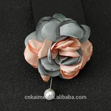 Wholesale Fashion Custom Latest Design Fabric <b>Pearl</b> Rose ...