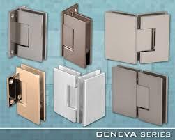 geneva series frameless shower door