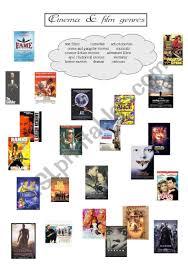 Film Genres Cinema And Film Genres Part Ii Esl Worksheet By Pricess
