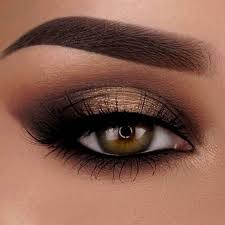 make up eye and green eyes image