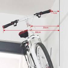 bike wall holder mount bike showing