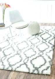 large fur area rug white fuzzy area rug fuzzy rugs outstanding rugs grey and white