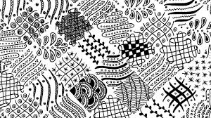 Zentangle Patterns Extraordinary 48 Easy Freehand Zentangle Patterns For Beginners Full Page