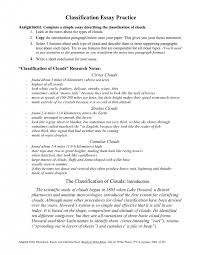 division essay example classification and division essay examples  cover letter college essay outline template structure writing mla format layout writingclassification essay format medium size