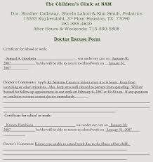 How To Get Doctors Note Creating Fake Doctors Note Excuse Slip 12 Templates For Word
