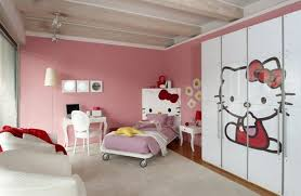 Modern Kids Bedroom Design With Hello Kitty