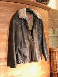 vintage leather usa pilot jacket