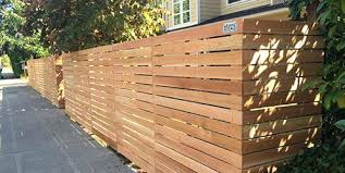 Modern Wooden Fence Horizontal Wood Fence Construction bettermedia