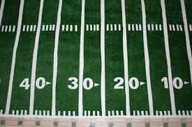 make a football field rug