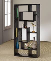 This is a very popular 10 cube asymmetric cube shelving unit (backless)  with varying