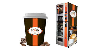 Starbucks Coffee Vending Machine Fascinating Fresh Healthy Vending Cafe Targets Starbucks For Self Serve Coffee