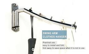 wall mounted clothes hanger rack folding wall mounted clothes hanger rack clothes hook stainless steel with