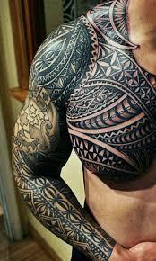 Beste Tattoos Full Sleeve орнамент маори тату эскизы