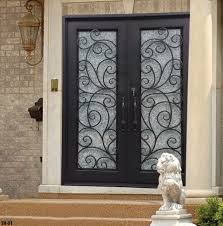 unique iron exterior doors best wrought iron doors wrought iron doors design for exterior
