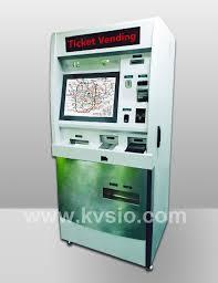 Metro Ticket Vending Machines Stunning Metro Ticket Vending Kiosk Bus Station Ticketing Kiosk Railway