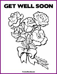 Coloring Pages Get Better Soon Coloring Pages Well Printable