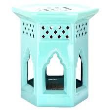 outdoor garden stool ceramic outside stools owl