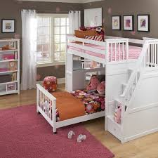 kids bunk bed with stairs. Schoolhouse Stair Loft Kids Bunk Bed With Stairs