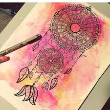 Pictures Of Dream Catchers To Draw dream catcher drawing Tumblr 77