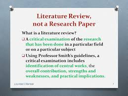 Literature Review Outline Template       Formats  Examples   Samples Comparative Literature Research Paper